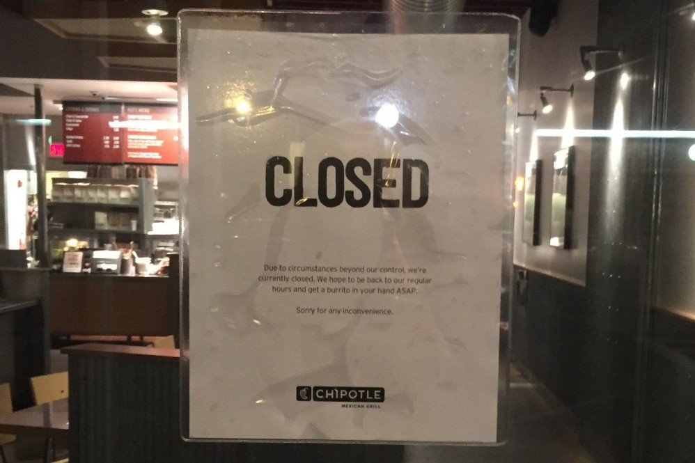 Chipotle Closing