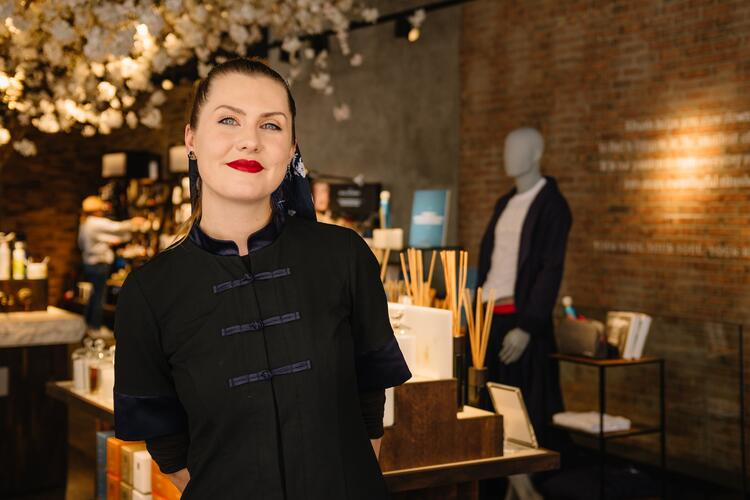 Rituals employee engagement image New York store