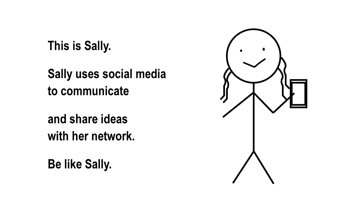Work-based social media_This is Sally